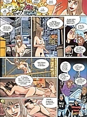 Blonde Hentai Teen with...