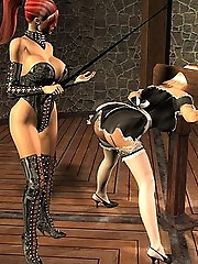 Kinky 3D Chick with...